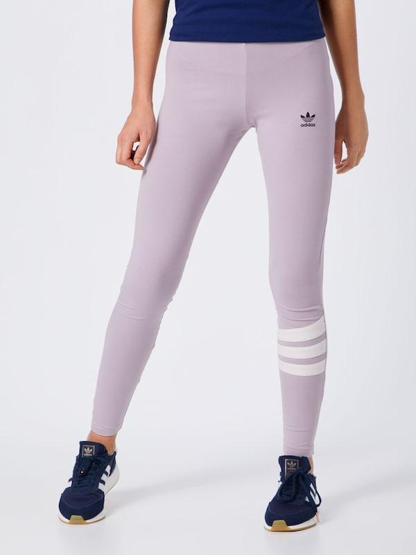 Leggings En LilasBlanc Adidas Leggings En Originals Adidas Originals fyY6mIb7gv
