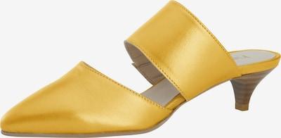 heine Slipper 'Sabot' in beige / goldgelb, Produktansicht