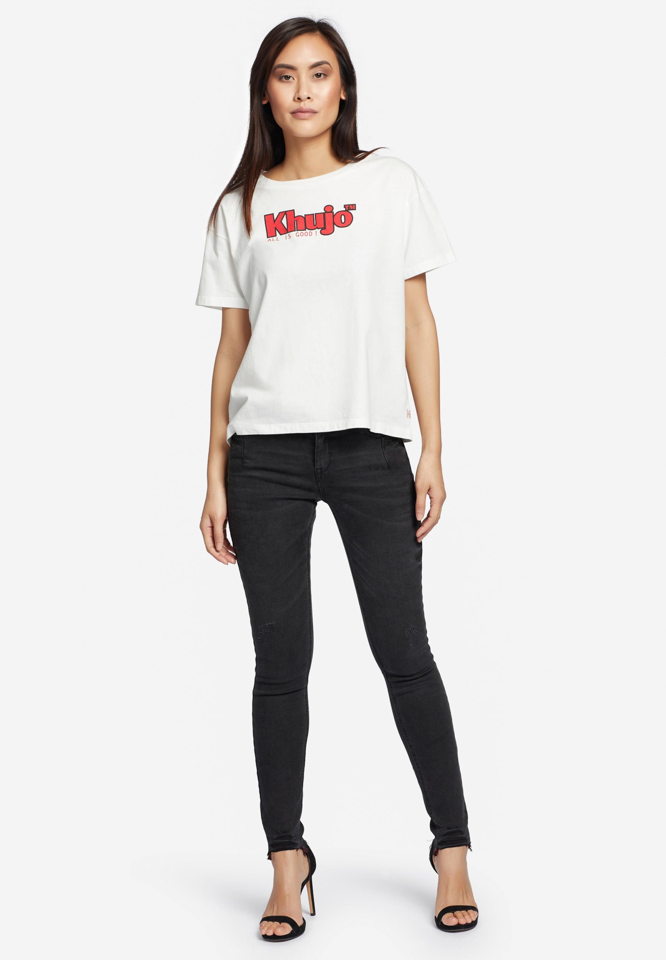 'marlenia RougeBlanc Khujo T shirt Logo' En SUqVpGzM