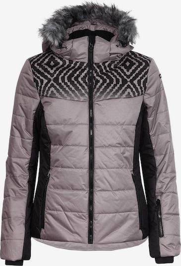 ICEPEAK Jacke 'Veruca' in taupe / schwarz, Produktansicht