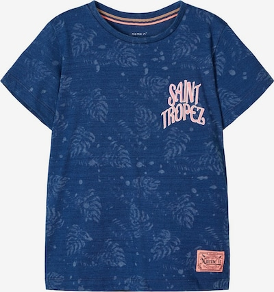 Tricou NAME IT pe albastru, Vizualizare produs