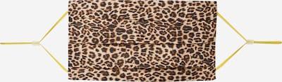 CODELLO Masque en tissu 'Fur' en marron / noir, Vue avec produit