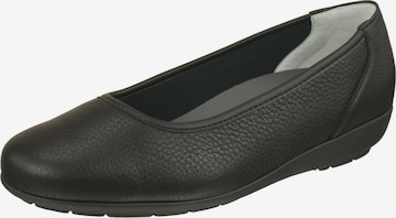 Natural Feet Ballet Flats 'Johanna' in Black