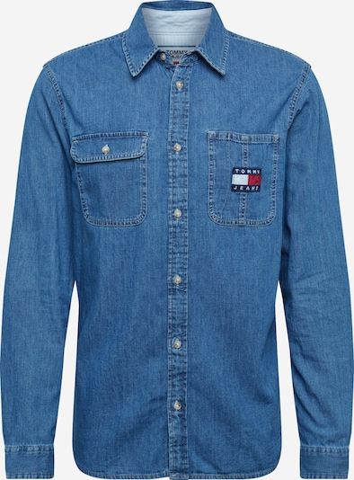 Tommy Jeans Hemd in indigo, Produktansicht