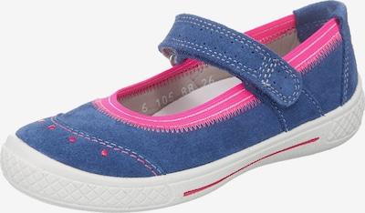 SUPERFIT Ballerinas 'Tensy' in himmelblau / pink, Produktansicht