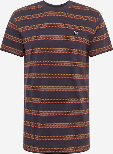 Iriedaily Shirt 'Monte Noe Jaque' in navy / honig / koralle, Produktansicht