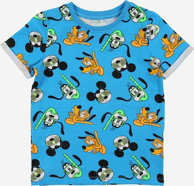 NAME IT Shirt 'Mickey Francis' in de kleur Lichtblauw / Gemengde kleuren: Vooraanzicht