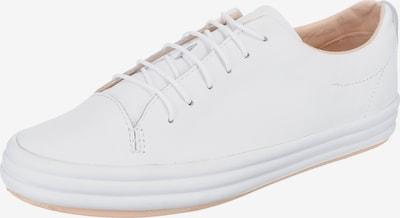 CAMPER Baskets basses 'Hoops' en blanc, Vue avec produit