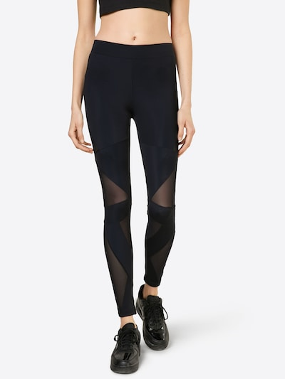 Urban Classics Leggings in schwarz, Modelansicht