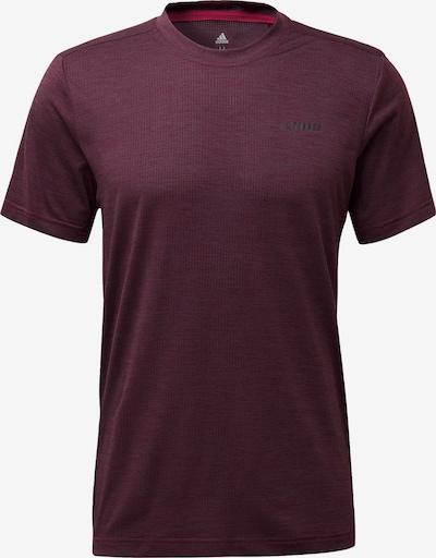 ADIDAS PERFORMANCE ' TERREX Tivid T-Shirt ' in dunkellila, Produktansicht