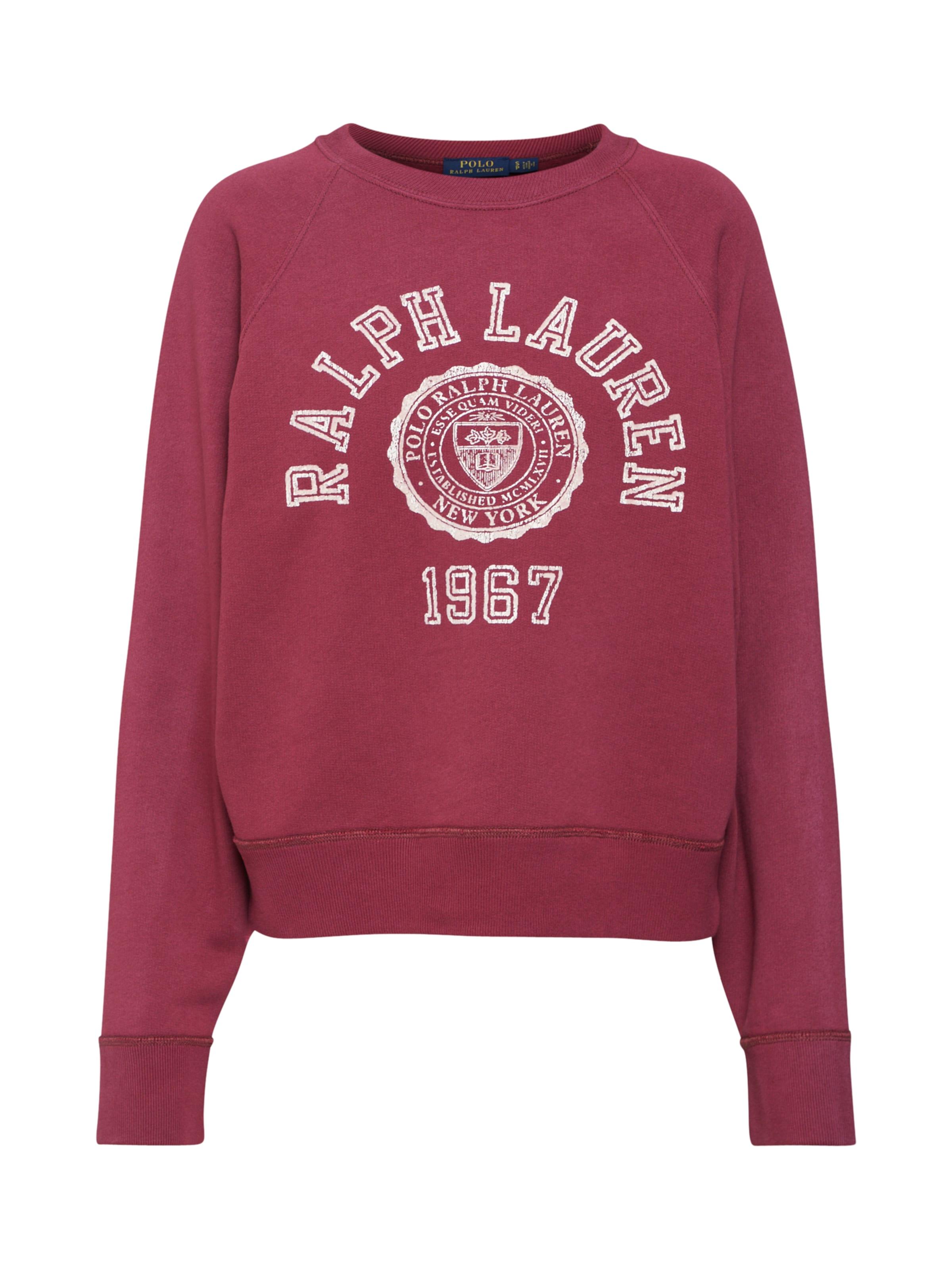 shirt Ralph Aubergine LaurenSweat In Polo MpSqUzVG