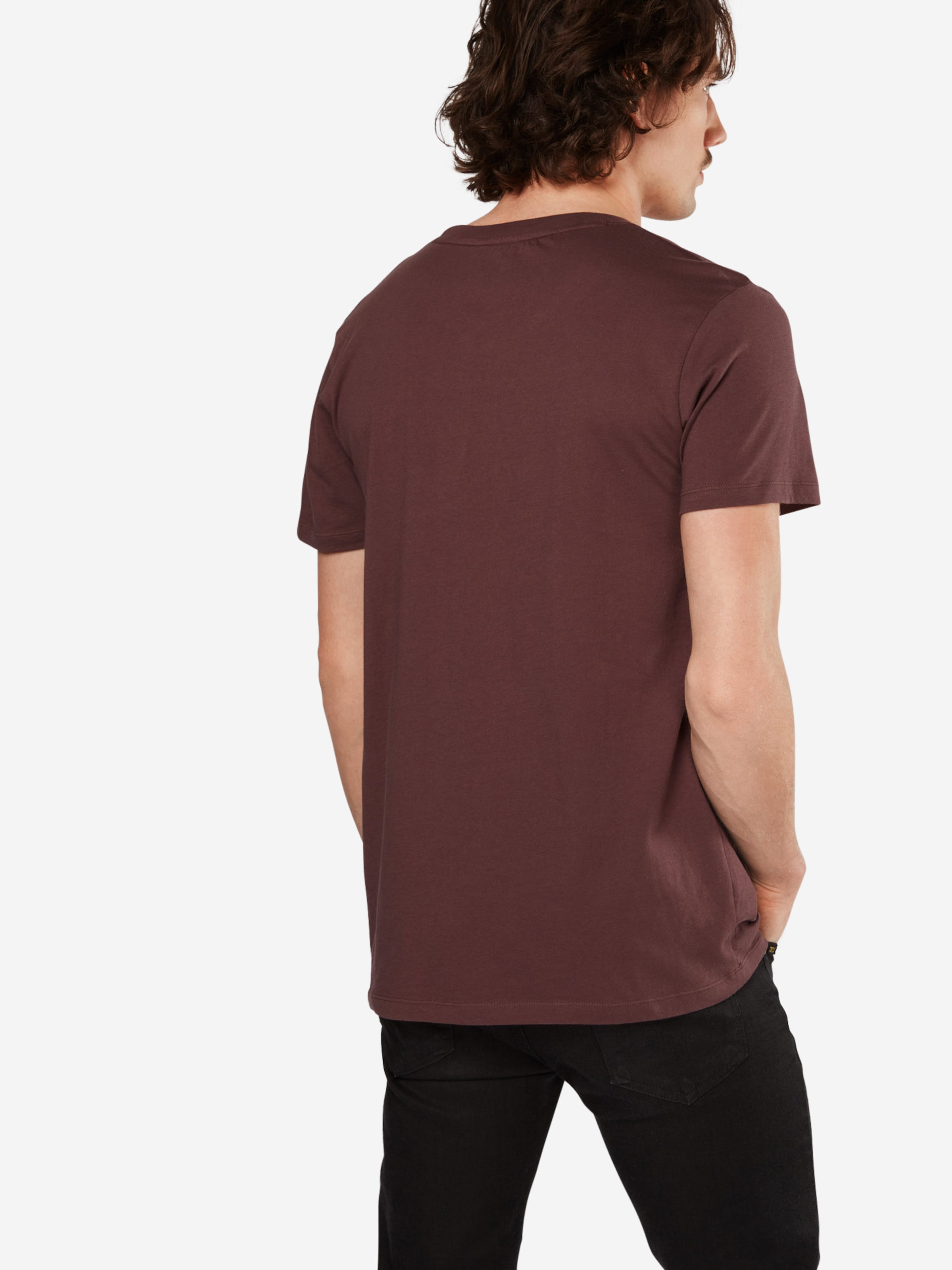 TOM TAILOR DENIM T-Shirt 'Logo D' Zuverlässig Günstig Online F9dw3C