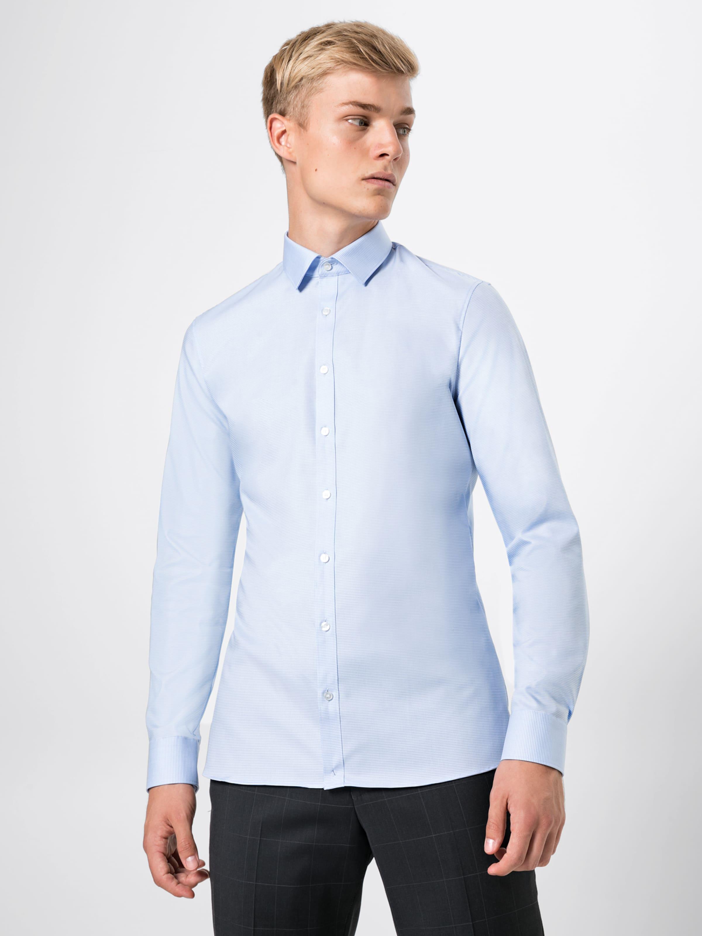 Uni' Faux BlauWeiß In Olymp Hemd 'no6 8k0wOnP
