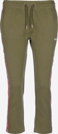 FILA Jogginghose  'URVI' in khaki / rot, Produktansicht