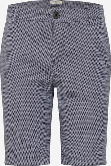 SELECTED HOMME Kalhoty - modrá: Pohled zepředu