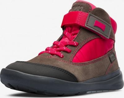 CAMPER Laarzen 'Ergo' in de kleur Bruin / Neonrood, Productweergave