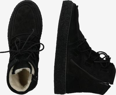 Suvarstomieji kulkšnis dengiantys batai iš Ca Shott , spalva - juoda: Vaizdas iš šono