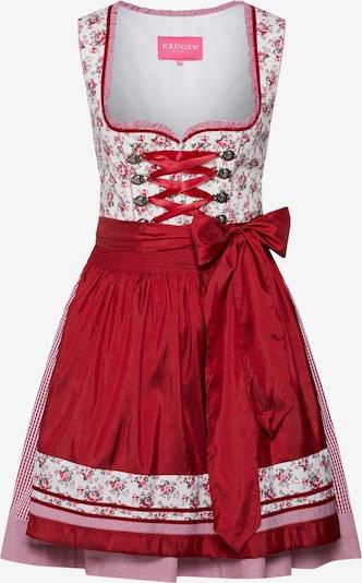 Rochițe tiroleze Krüger Madl pe roșu / alb, Vizualizare produs