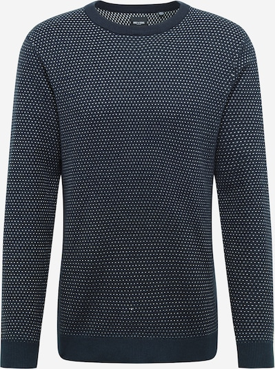 Only & Sons Pullover 'LARS' in navy / weiß, Produktansicht