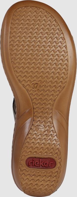 Vielzahl von StilenRIEKER Pantolette mit Verkauf Zierspangeauf den Verkauf mit 6797de
