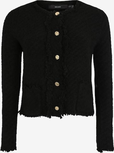 Vero Moda Curve Strickjacke 'FRIDA' in schwarz, Produktansicht