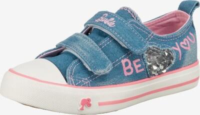 BARBIE Sneakers in blue denim / rosa / silber, Produktansicht