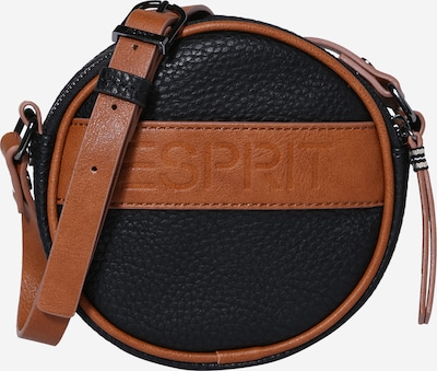 Geantă de umăr ESPRIT pe maro / negru, Vizualizare produs