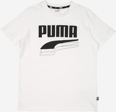 Tricou PUMA pe alb, Vizualizare produs