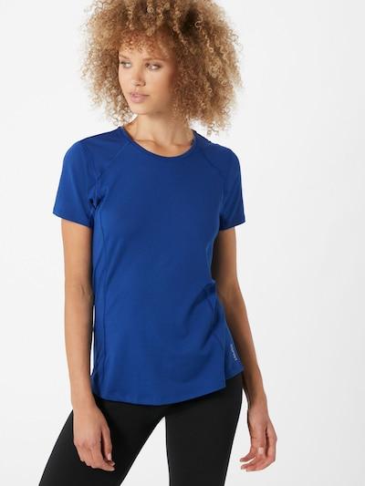 ESPRIT SPORT Functioneel shirt 'edry' in de kleur Blauw / Wit: Vooraanzicht