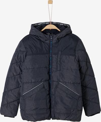 s.Oliver Junior Winterjacke in dunkelblau, Produktansicht
