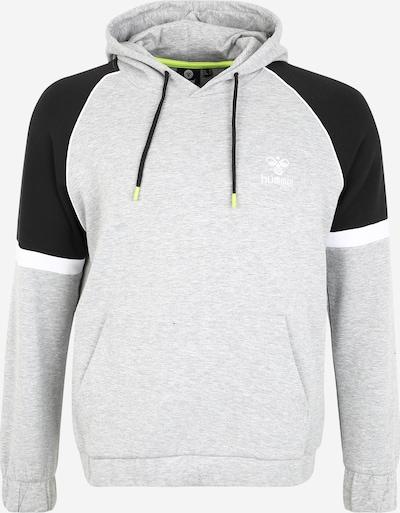 Hummel Bluzka sportowa 'LAYTON' w kolorze szary / czarny / białym, Podgląd produktu