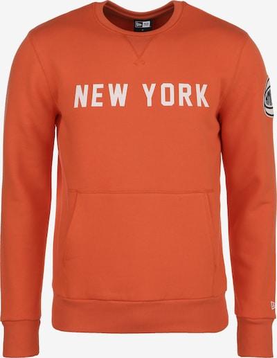 NEW ERA Sweatshirt in dunkelorange, Produktansicht