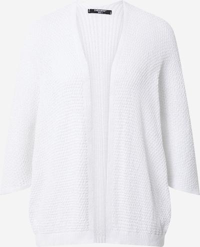 ZABAIONE Strickjacke 'Alexa' in weiß, Produktansicht