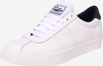 Sneaker low 'Compleau' de la SUPERGA pe alb