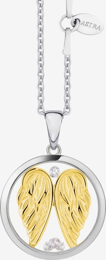 Astra Kette mit Anhänger 'GUARDIAN' in gold / silber, Produktansicht