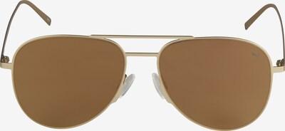 PUMA Sonnenbrille 'PU0160S-005 57' in hellbraun / gold, Produktansicht