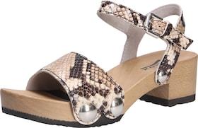 Sandali con cinturino SOFTCLOX color beige / marrone