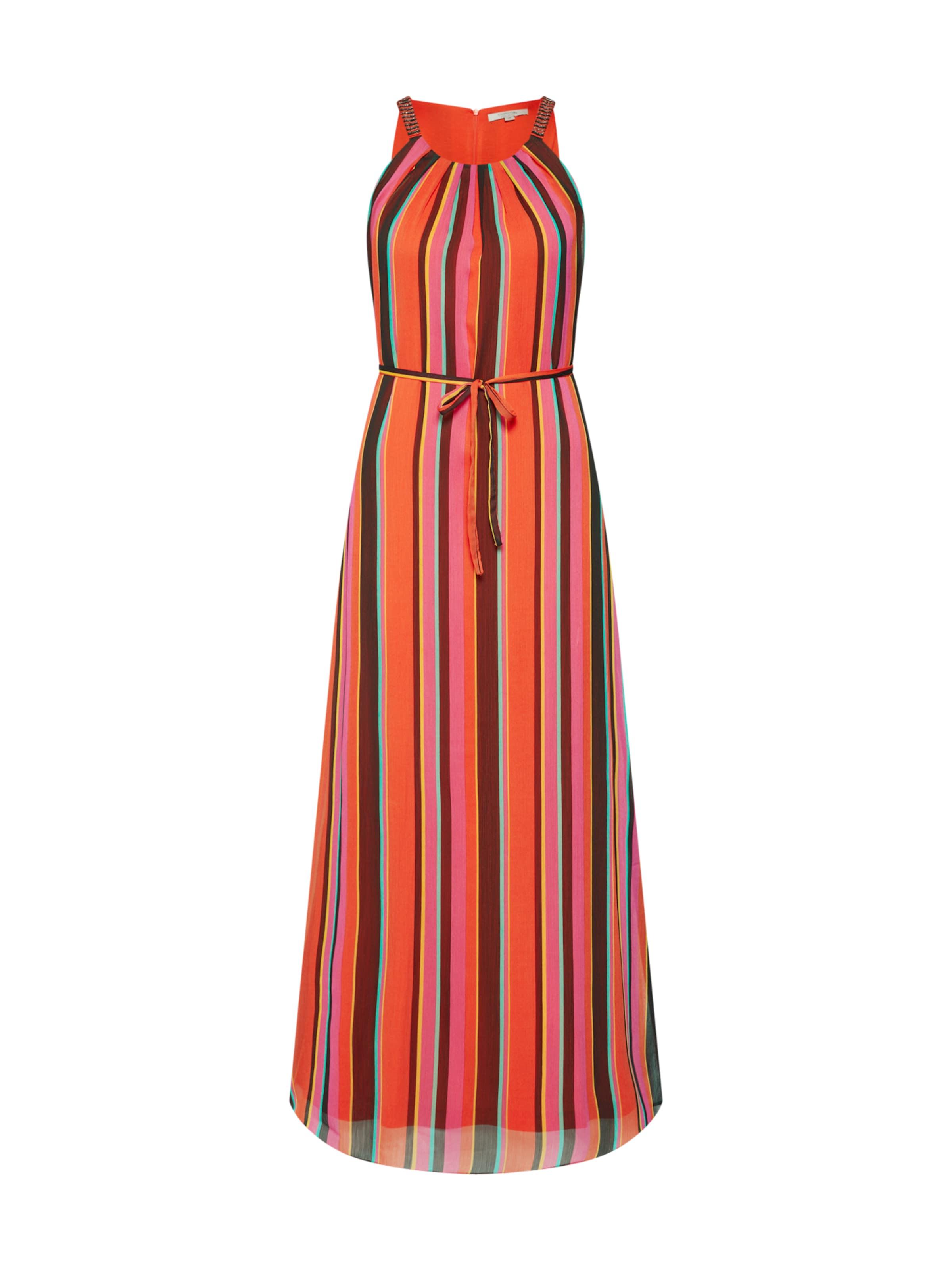 Comma Kleid In In OrangerotSchwarz OrangerotSchwarz Kleid In OrangerotSchwarz Comma Kleid Comma oErxBWQCde