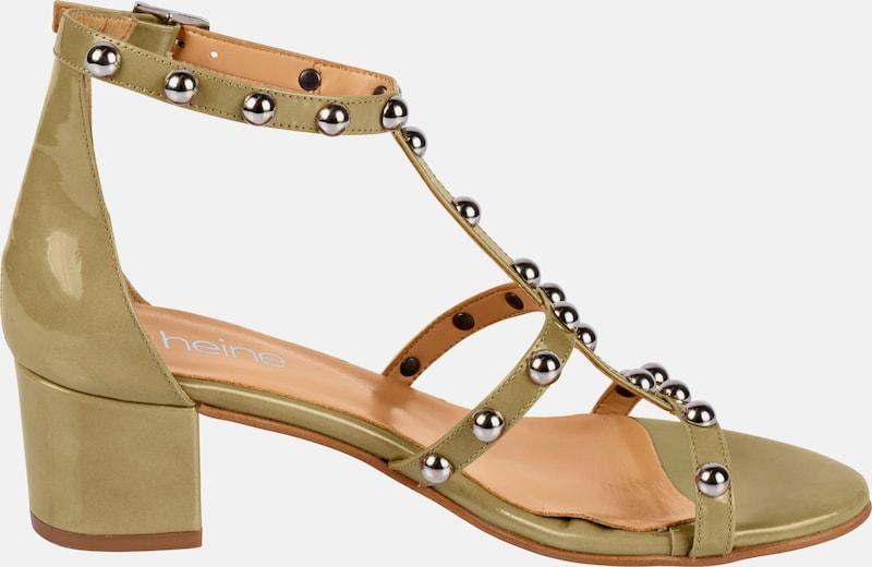 heine heine heine | Sandalette mit Nieten 3dfc57