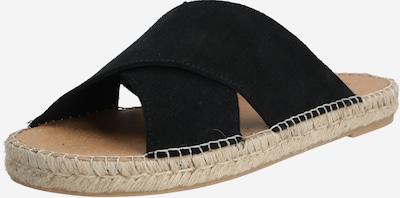 espadrij l´originale Mule 'Croisette' en noir, Vue avec produit