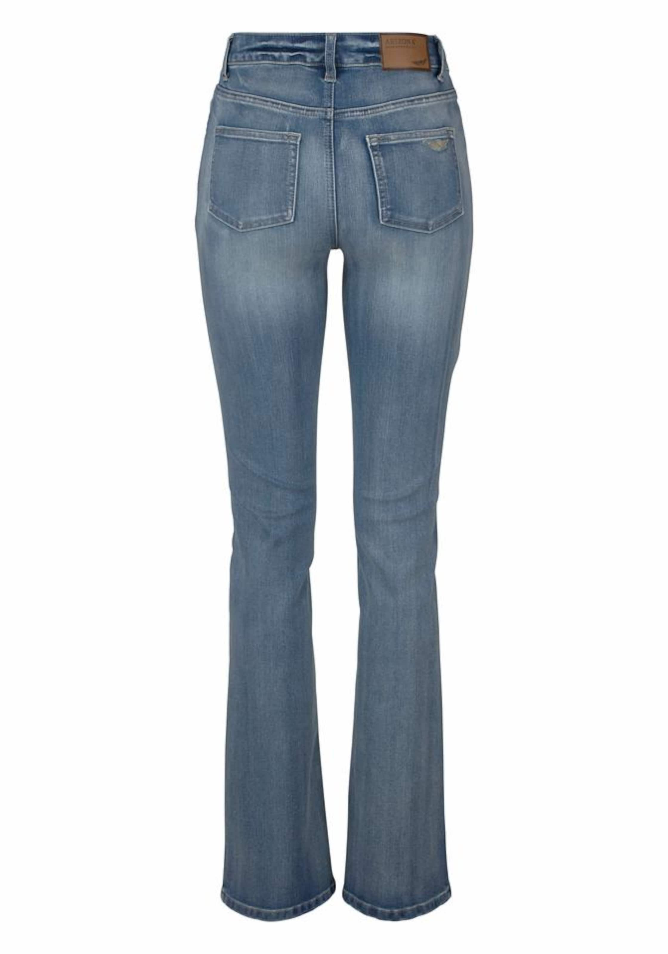 jeans Arizona Bootcut In Blau »bootcut« gb76Yfy