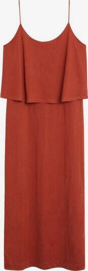VIOLETA by Mango Kleid in orangerot, Produktansicht