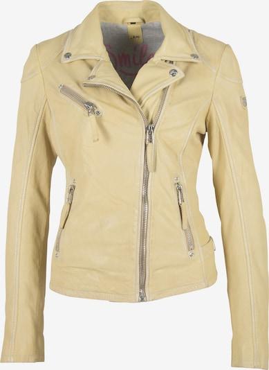 Gipsy Lederjacke 'PGG S20 LABAGV' in gelb, Produktansicht