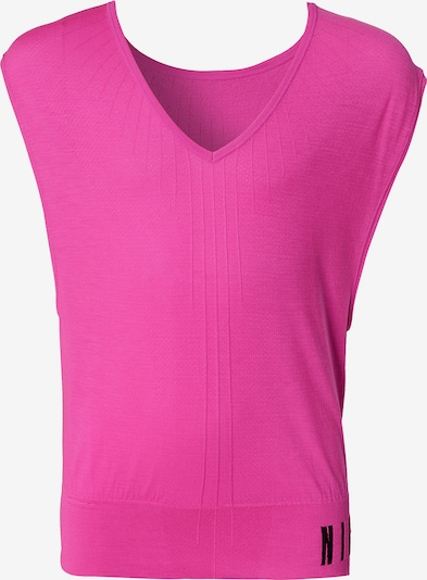 NIKE Crop T-Shirt 'Seamless Rev' in pink, Produktansicht