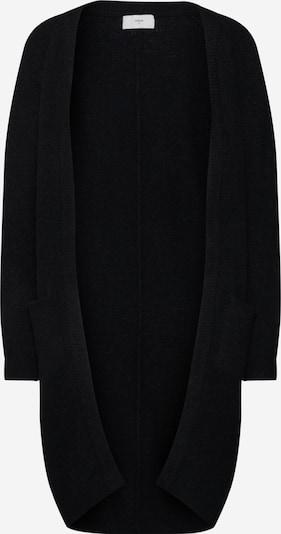 minimum Cardigan 'Kerstin' in schwarz: Frontalansicht
