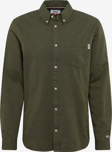 Tommy Jeans Košeľa 'OXFORD' - olivová, Produkt