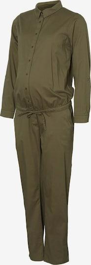 MAMALICIOUS Jumpsuit in de kleur Kaki: Vooraanzicht