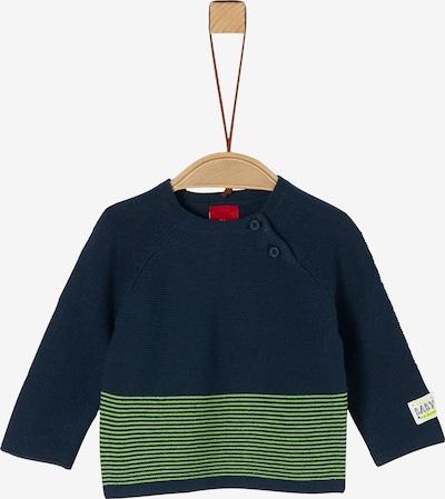 s.Oliver Pullover in blau, Produktansicht