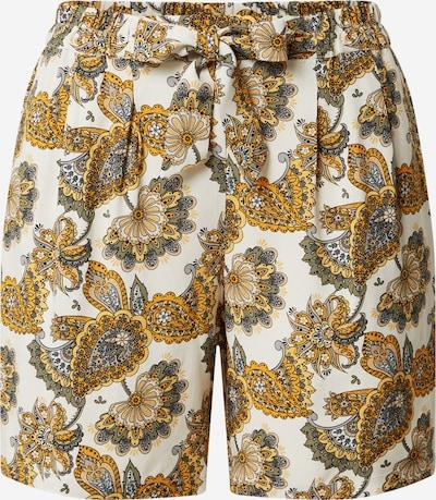 sárga / vegyes színek Soyaconcept Élére vasalt nadrágok 'Idalou': Elölnézet
