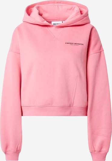 Worst Behavior Sweatshirt 'Corby' in pink, Produktansicht